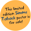 This limited edition Simms Taback poster is